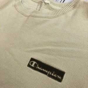 Vintage Champion Spellout sweater xl